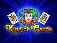 Автомат King of Cards в клубе Вулкан