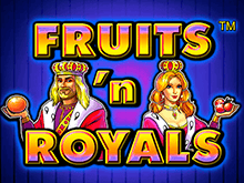 Игровой автомат Fruits and Royals в клубе Вулкан