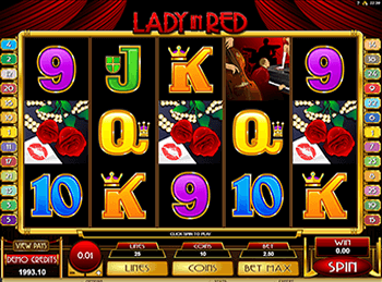 Игры на деньги Lady in Red